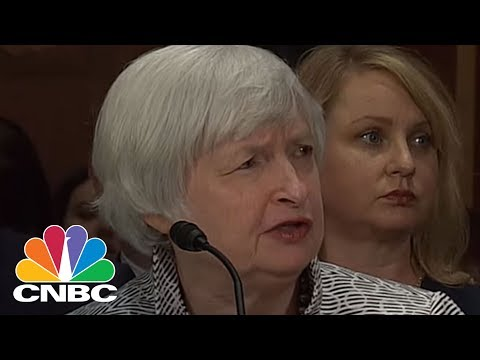Janet Yellen: US Further Along Normalization Path Than BOJ And ECB | CNBC