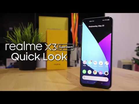 Realme X3 Superzoom Quick Review Youtube