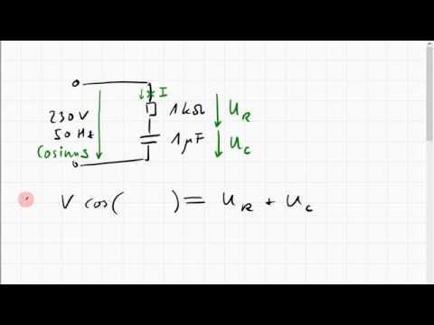 08C.2 Differentialgleichung für Widerstand und Kondensator an ...