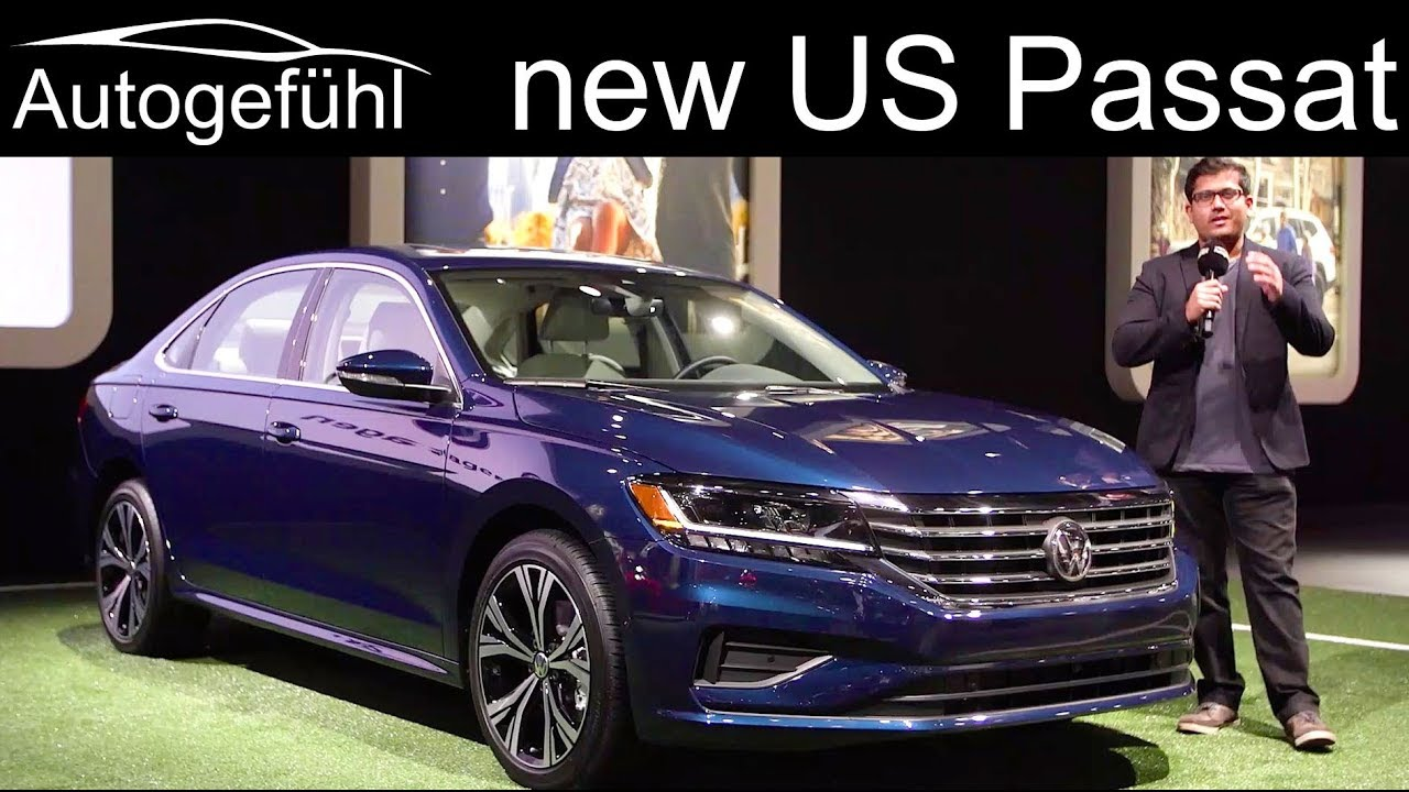 Vw Passat Us Facelift 2020 Review What S New Autogefuhl Youtube