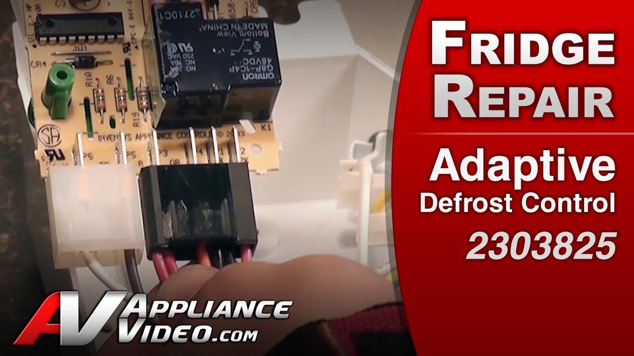 Adaptive Defrost Control Refrigerator Repair Whirlpool