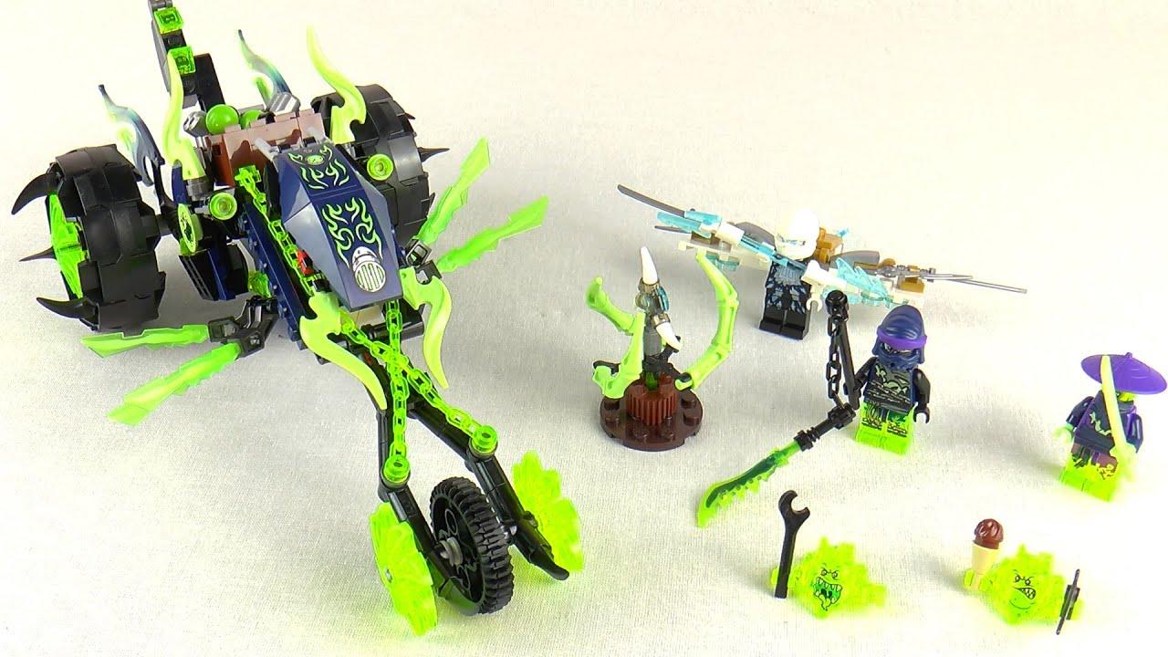 Непростая битва с ледяным драконом и его приспешниками ожидает ниндзя го. Игре призрачный дракон. Игроку вместе с героем лего конструктора.