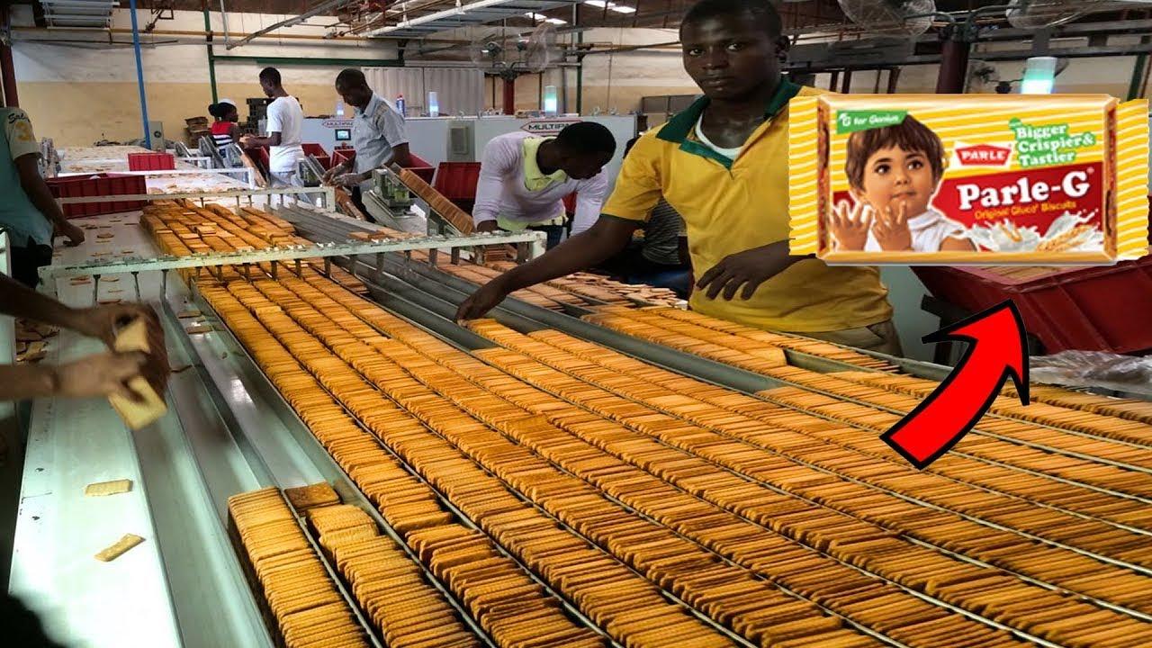 দেখুন ফ্যাক্টরিতে কিভাবে Parle G বিস্কুট বানানো হয় | 10 Food Manufacturing Machines in Bangla