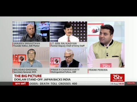 The Big Picture:  Doklam stand-off: Japan backs India