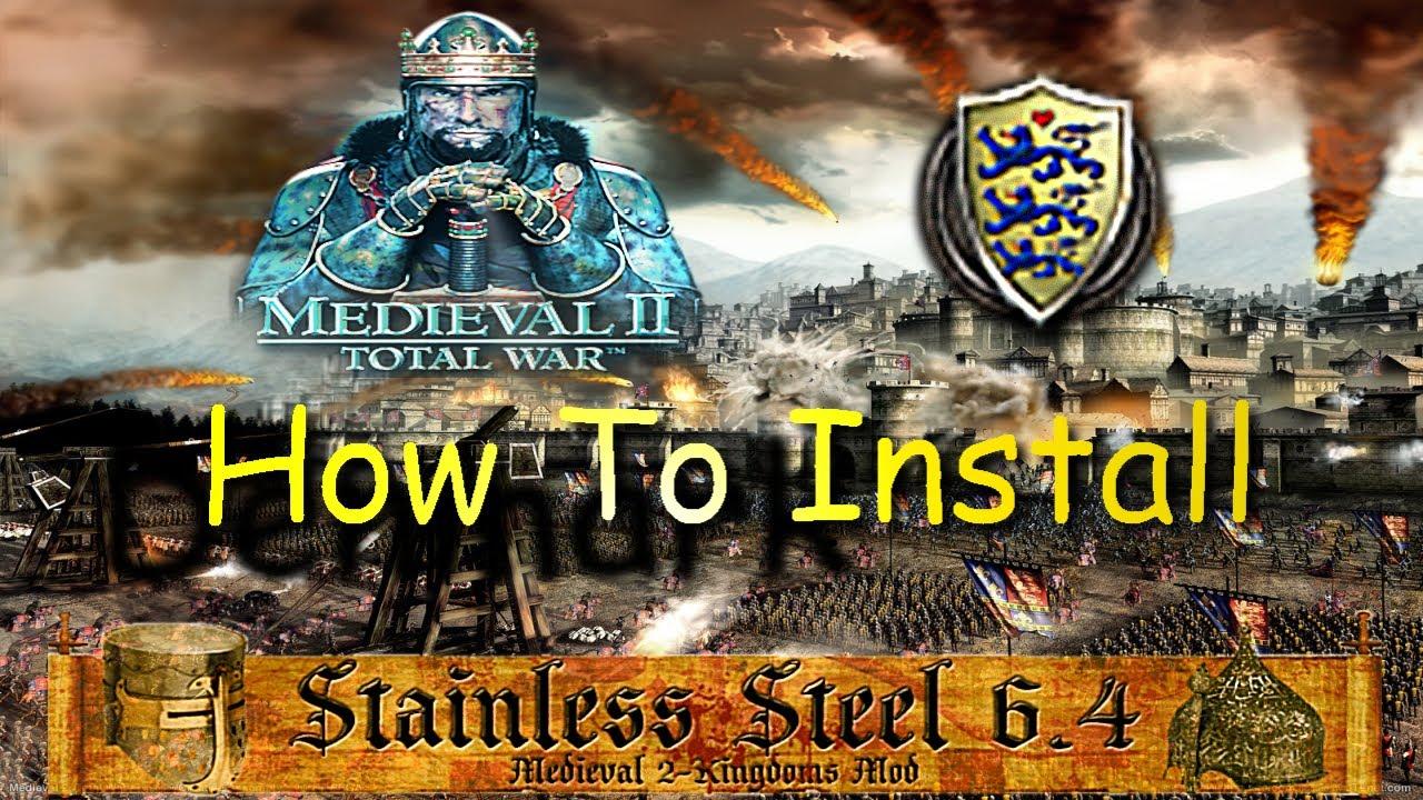medieval ii stainless steel steam