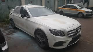Ремонт кузова Mercedes-Benz E-class