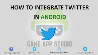 Learn how to integrate Twitter-In into your Android App