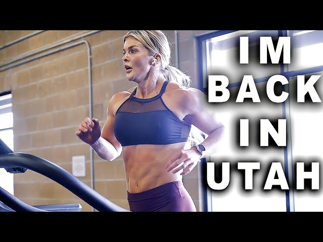 BROOKE ENCE VLOGS | Front Squats, Shoulders, and A Metcon At Fitness Culture Utah