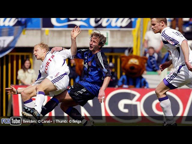 2004-2005 - Jupiler Pro League - 33. Club Brugge - RSC Anderlecht 2-2