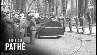 Funeral Of Crown Princess Martha Of Norway (1954)
