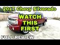 FULL 2017 Chevy Silverado Review! PART 1