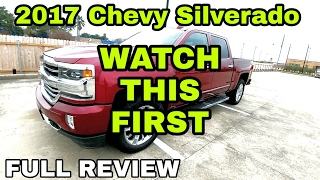 FULL 2017 Chevy Silverado Review! Amazing truck! PART 1