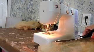Как сшить пышную юбку из фатина, часть 1/How to sew a lush skirt of tulle, part 1