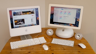 iMac G4 and G5 Hackintoshs running macOS Sierra (old version)