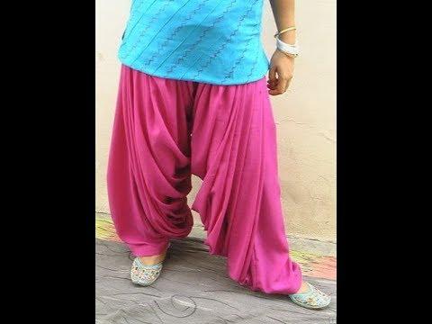 Patiyala  Salwar  Cutting & Stitching | TAMIL (DIY)