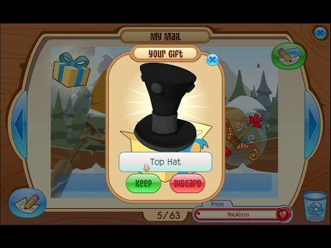 Image of: Spooky Animal Jam Mail Time W Lauren 14 Top Hats Artist Plaque Youtube Animal Jam Mail Time W Lauren 14 Top Hats Artist Plaque