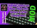HOW TO: Sinclair Spectrum 48k Composite Video mod with Decoupling Capacitor and Before/After video