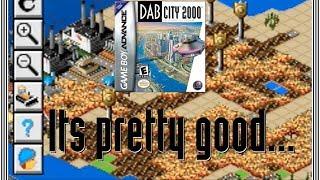 A Pretty Good GBA Port of SimCity 2000