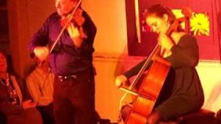 Alasdair Fraser and Natalie Haas perform in Ukiah, California
