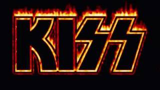 kiss - God of Thunder (lyrics)