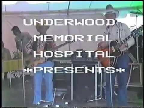 Underwood Hospital South Jersey Country Music Jamboree 6/7/1986 clip 1