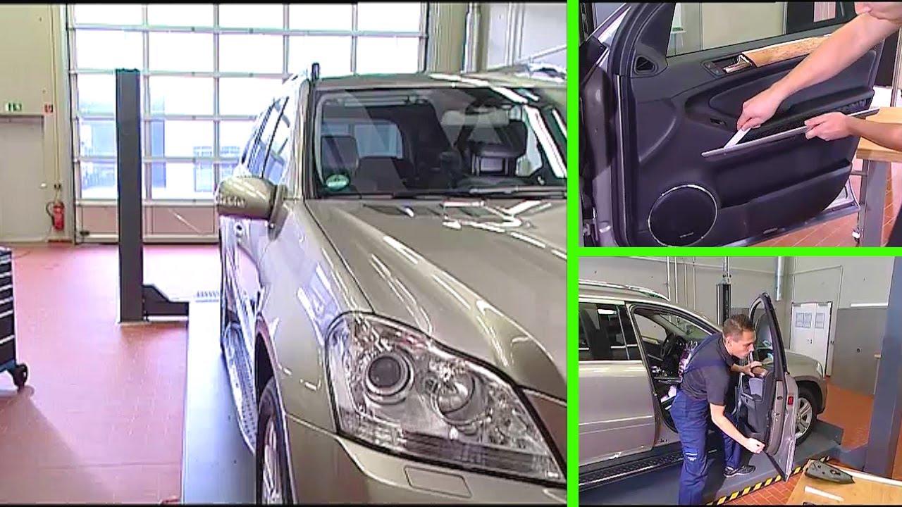 Mercedes A Klasse Fensterheberschalter Ausbauen