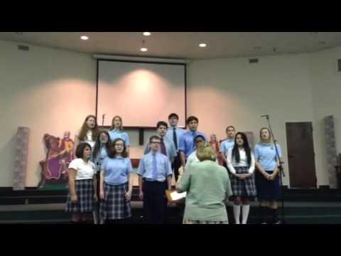 Northeast Baptist School Choir Oct 7/2015