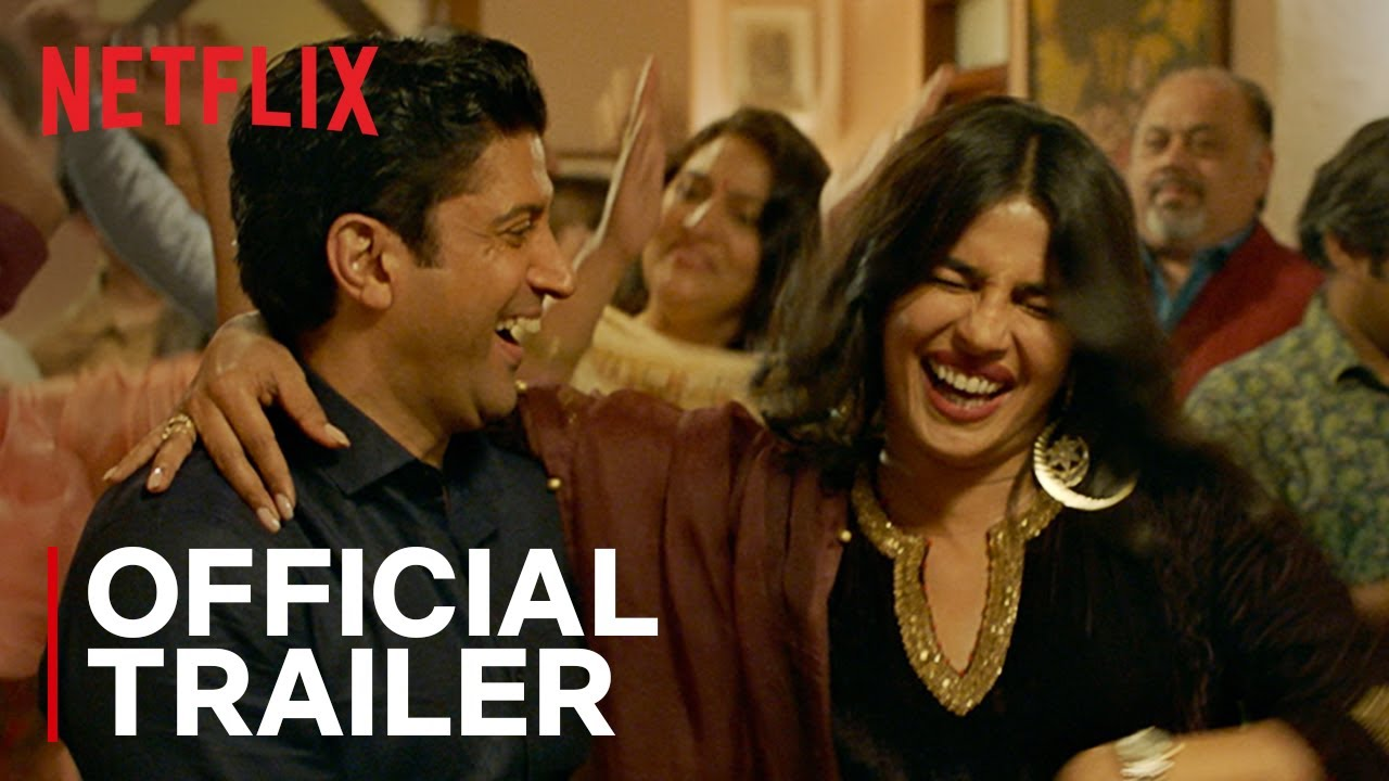 The Sky Is Pink Official Trailer Priyanka Chopra Farhan Akhtar Zaira Wasim Netflix India Youtube