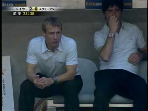 Joachim Löw Eats Booger, Even in 2006 World Cup!