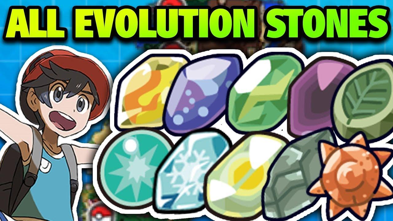 Pokemon Ultra Sun & Moon: where to find evolution stones