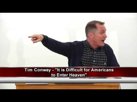 Vast Majority of Americans Destined for Hell According to Jesus? Are They Needle's Eye Camels?