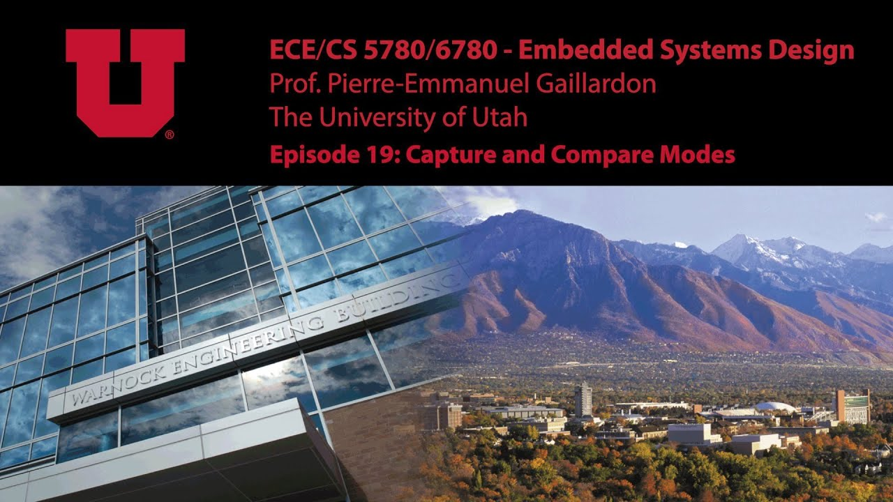Embedded Systems - E19 - Timer Capture and Compare Modes