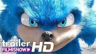 SONIC - O FILME (2019) Trailer Dublado | Jim Carrey, James Marsden Filme