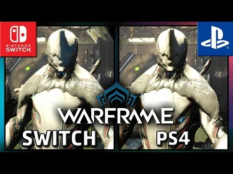 Warframe   Switch VS PS4    Graphics Comparison