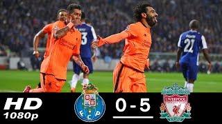 Porto Vs Liverpool 0-5 Goals and Highlights Champions League 2018 HD