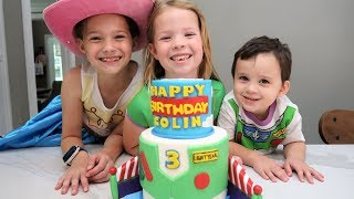 Colin's 3rd Birthday Party!