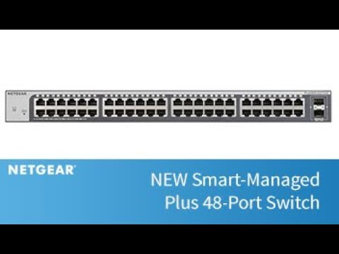 NEW Smart-Managed Plus 48-Port Switch   Business