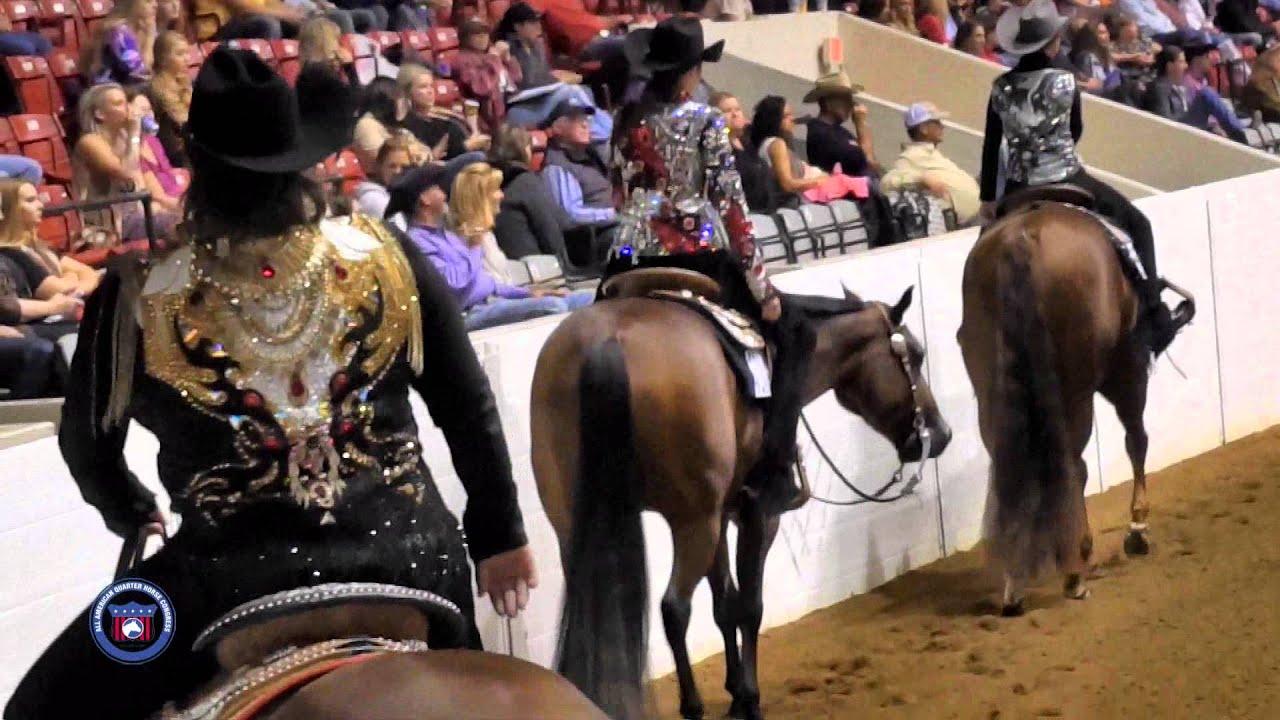 2015 aqha all-american quarter horse congress non-pro western