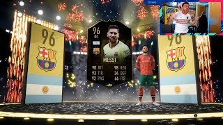 ME HA TOCADO MESSI IF 96 !! DIOOOOOOOOS