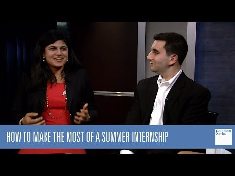 How to Make the Most of a Summer Internship: Google Hangout
