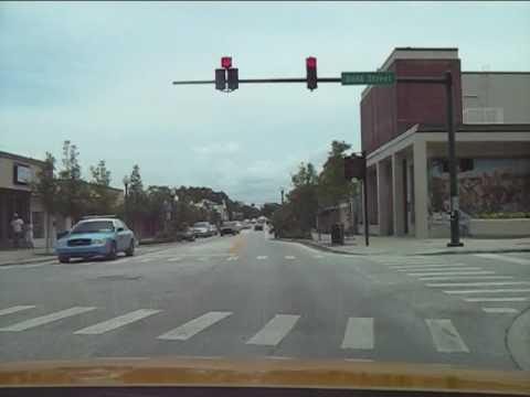 Main Street - New Port Richey Florida