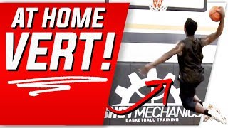 Crazy Easy At Home Drills to SKYROCKET Your Vert: Jump Higher Now!