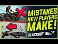 BLACKOUT 6 MISTAKES MADE BY NEW PLAYERS Tips Guide Black Ops 4 mp3