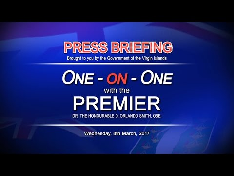One-on-One with Premier Smith  8-MAR-2017