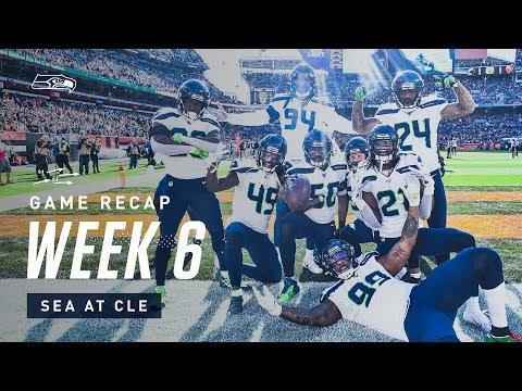 2019 Week 6: Seahawks at Browns Recap