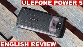 Ulefone Power 5 Review: Impressive Battery Life (English)