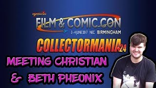 Meeting Former WWE Wrestler Christian & HOF Beth Pheonix At Collectormania 24