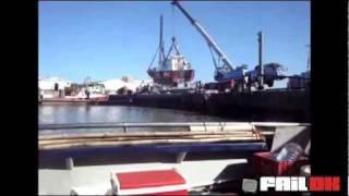 En lidt for tung båd...