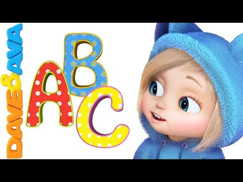 📕 ABC Song | ABC Songs for Kids | Nursery Rhymes & Baby Songs from Dave and Ava 📚