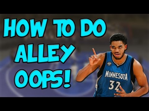 NBA 2K17 | How To Perform Alley-Oops
